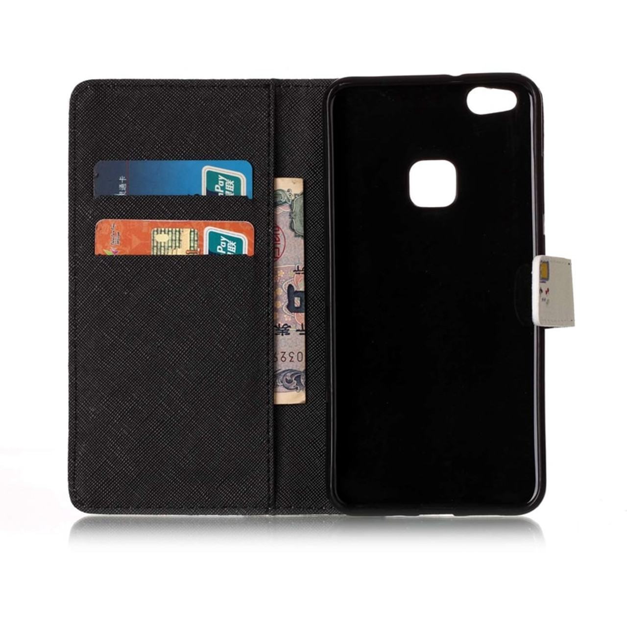 51ce1cef3794f8 ... Phone Etui For Coque Huawei P10 Lite Case Luxury Leather Wallet Flip  Cover For Huwawei P10 ...