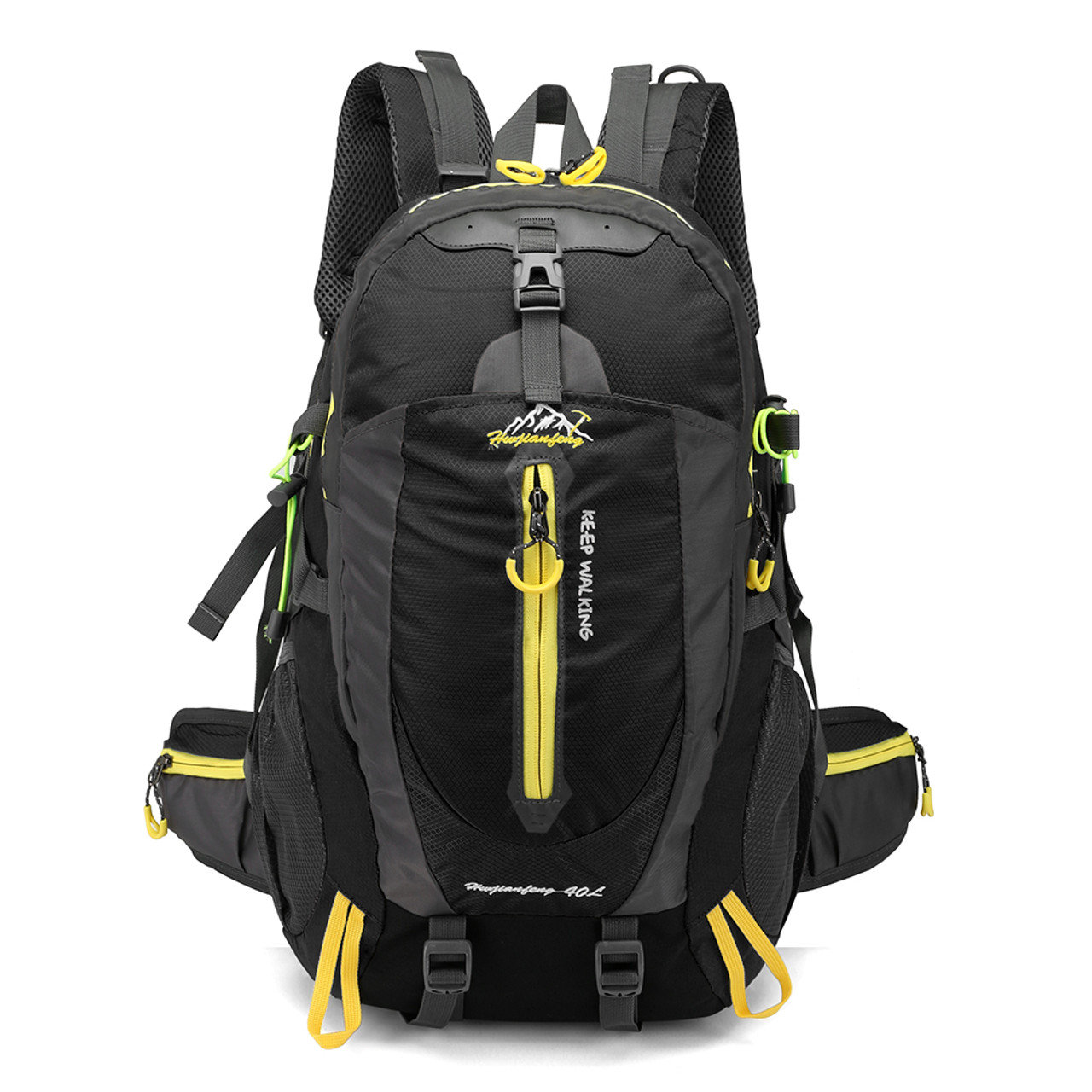 d54de589f37a 40L Waterproof Climbing Bag Travel Backpack Bike Bicycle Bag Camping Hike  Laptop Daypack Rucksack Outdoor Men ...