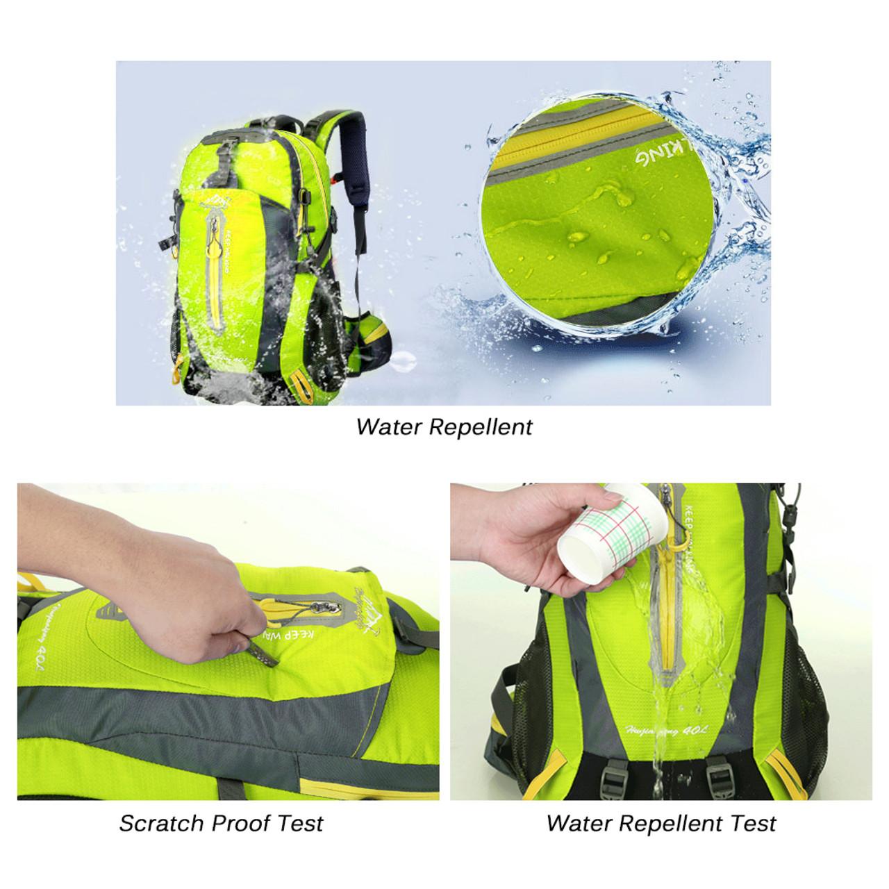 ... 40L Waterproof Climbing Bag Travel Backpack Bike Bicycle Bag Camping  Hike Laptop Daypack Rucksack Outdoor Men ... 07e16045eb