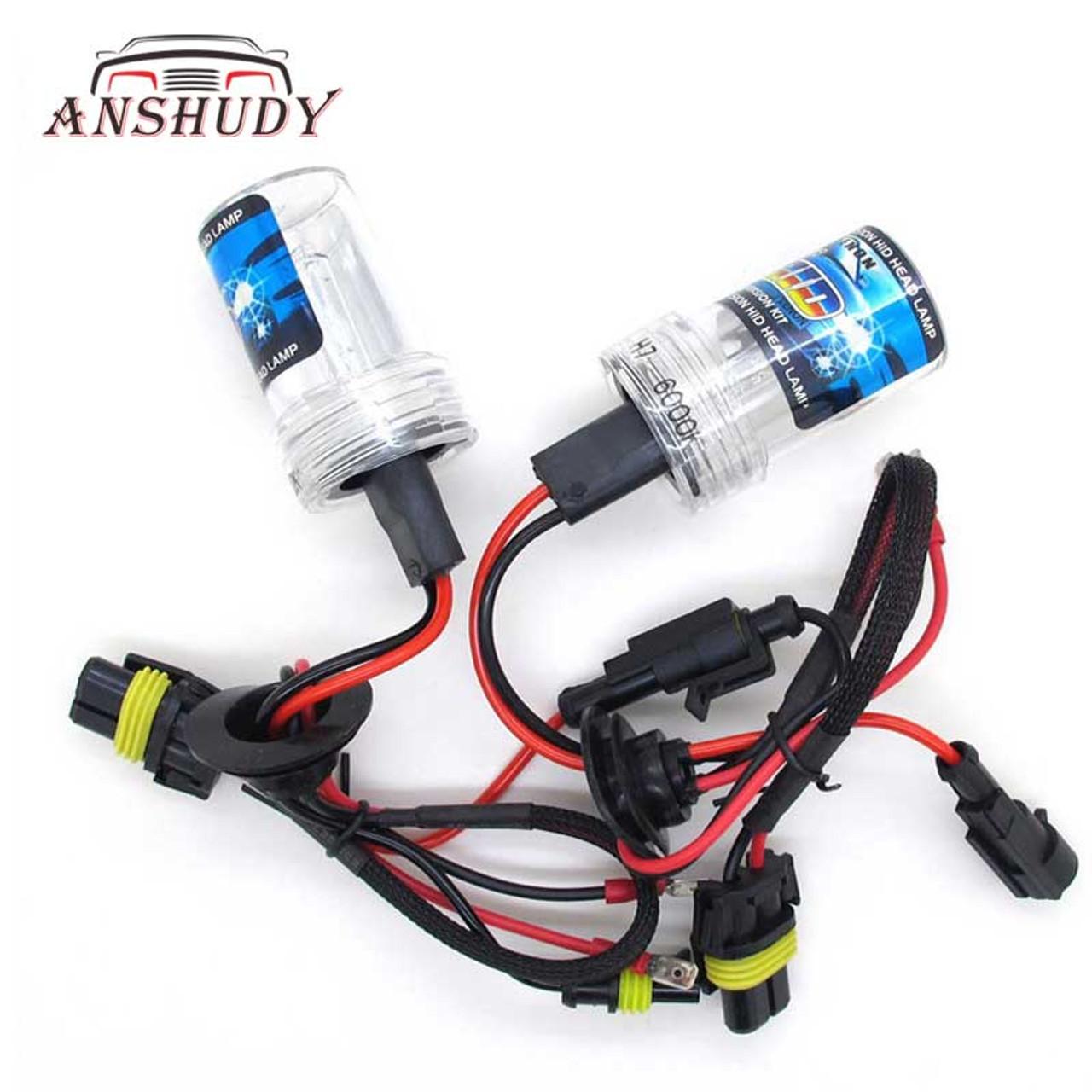 Brand New 2Pcs AC 35W Car Xenon HID 9005 HB3 4300K Head Light Bulbs Fog Lamps