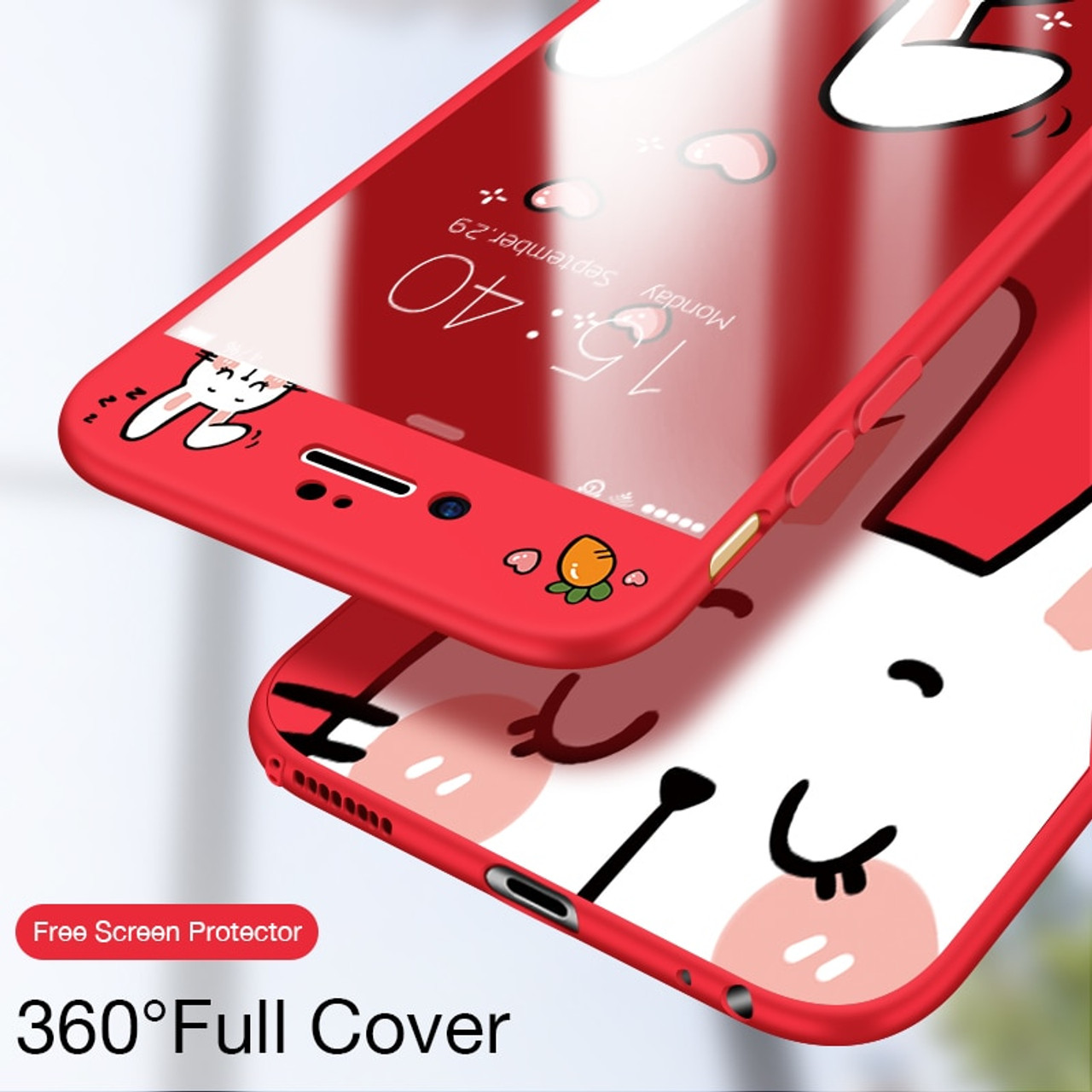 3523c4add41 ASINA 360 Full Cover Cases For iPhone 7 Case Original Cute 3D Cartoon Cover For  iPhone ...
