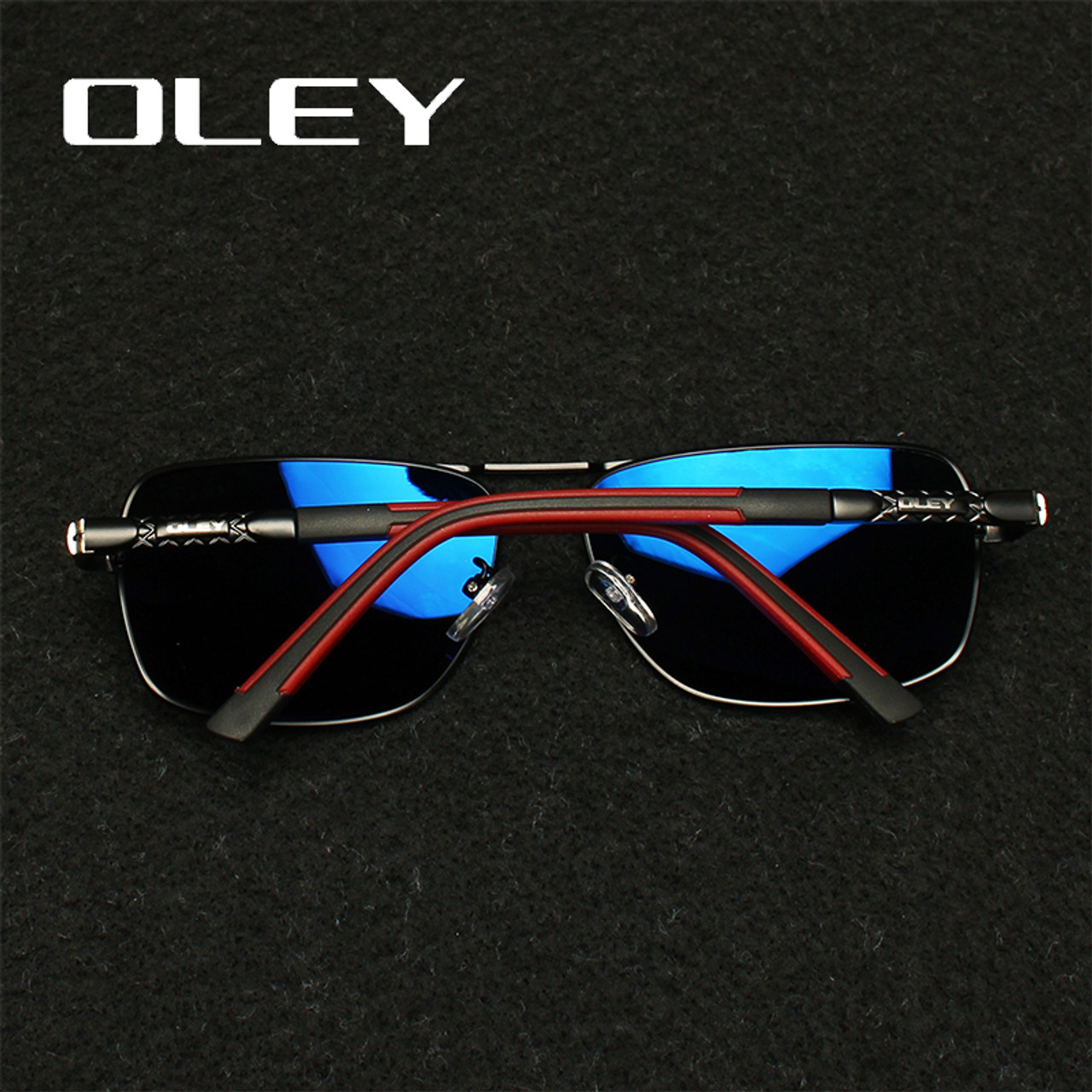 35f674b9fc6 ... OLEY Brand Polarized Sunglasses Men New Fashion Eyes Protect Sun Glasses  With Accessories Unisex driving goggles ...