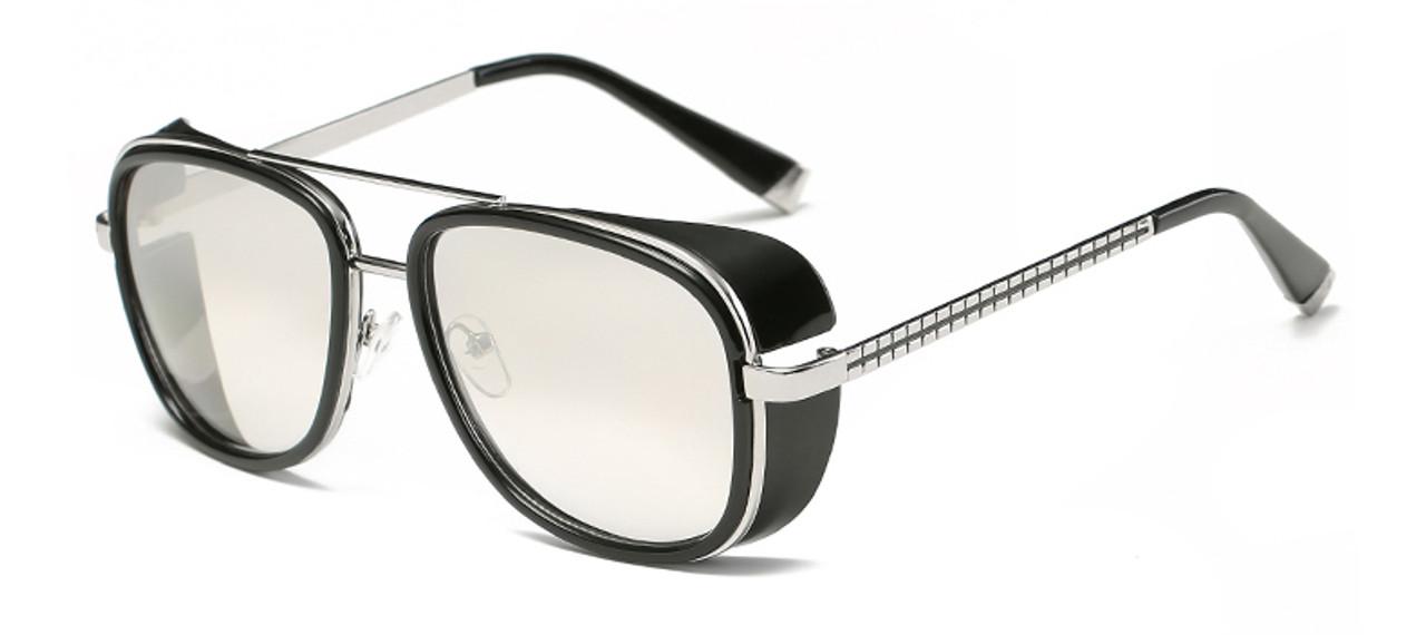 5c97b30d27f22 ... Samjune Iron Man 3 Matsuda TONY stark Sunglasses Men Rossi Coating  retro Vintage Designer Sun glasses ...