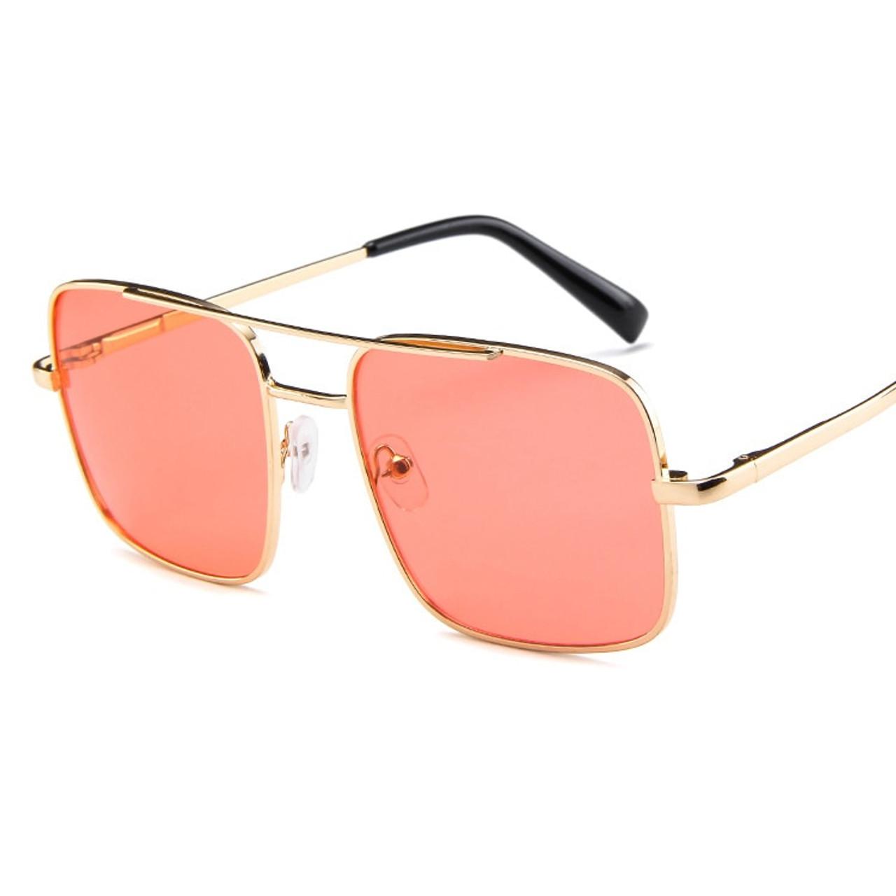 dd1f91da289 ... Hih hop Square Sunglasses Women Men Shades Retro Classic Vintage Sun  Glasses Female Male Luxury Brand ...