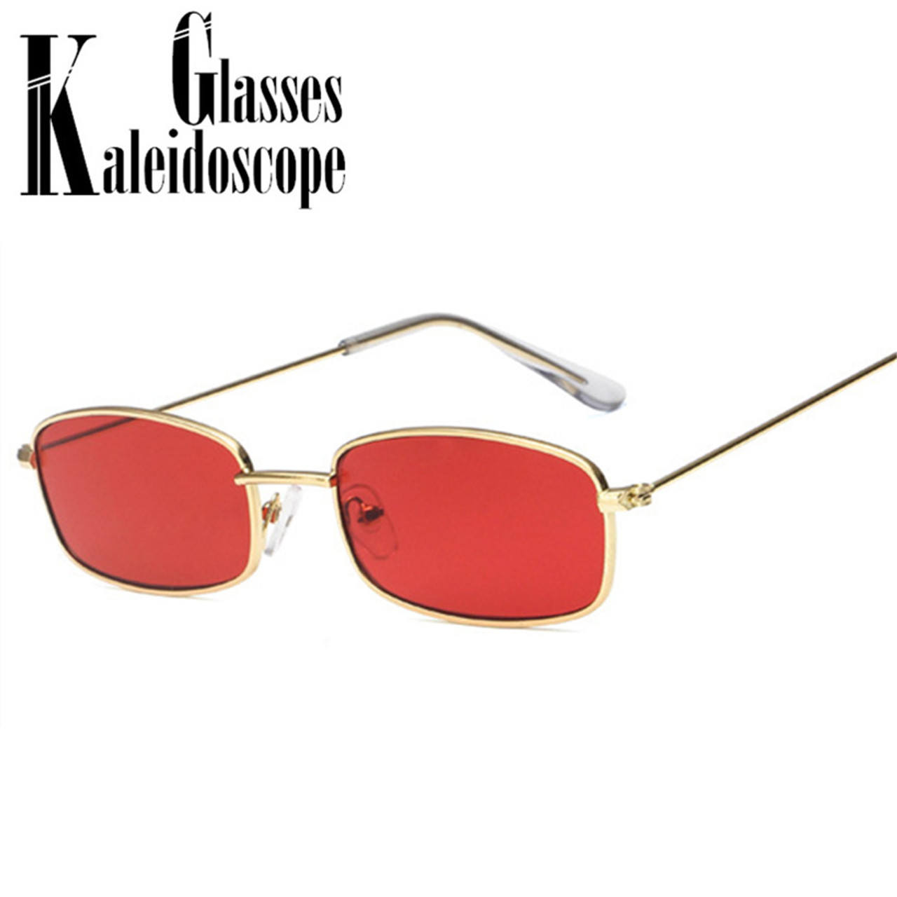 d4d96fced Small Sunglasses Women 90s Metal Men Retro Driving GlassesFemale Red Pink Lens  Glasses Vintage Ladies Outdoor Eyeglasses UV400 - OnshopDeals.Com