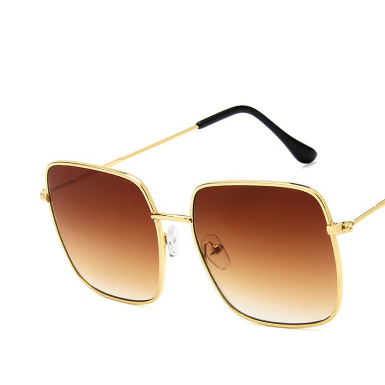 f8750a49e42 ... 2018 Newest square frame vintage sunglasses Women Oversized Big Size Sun  Glasses for Men Female Shades ...