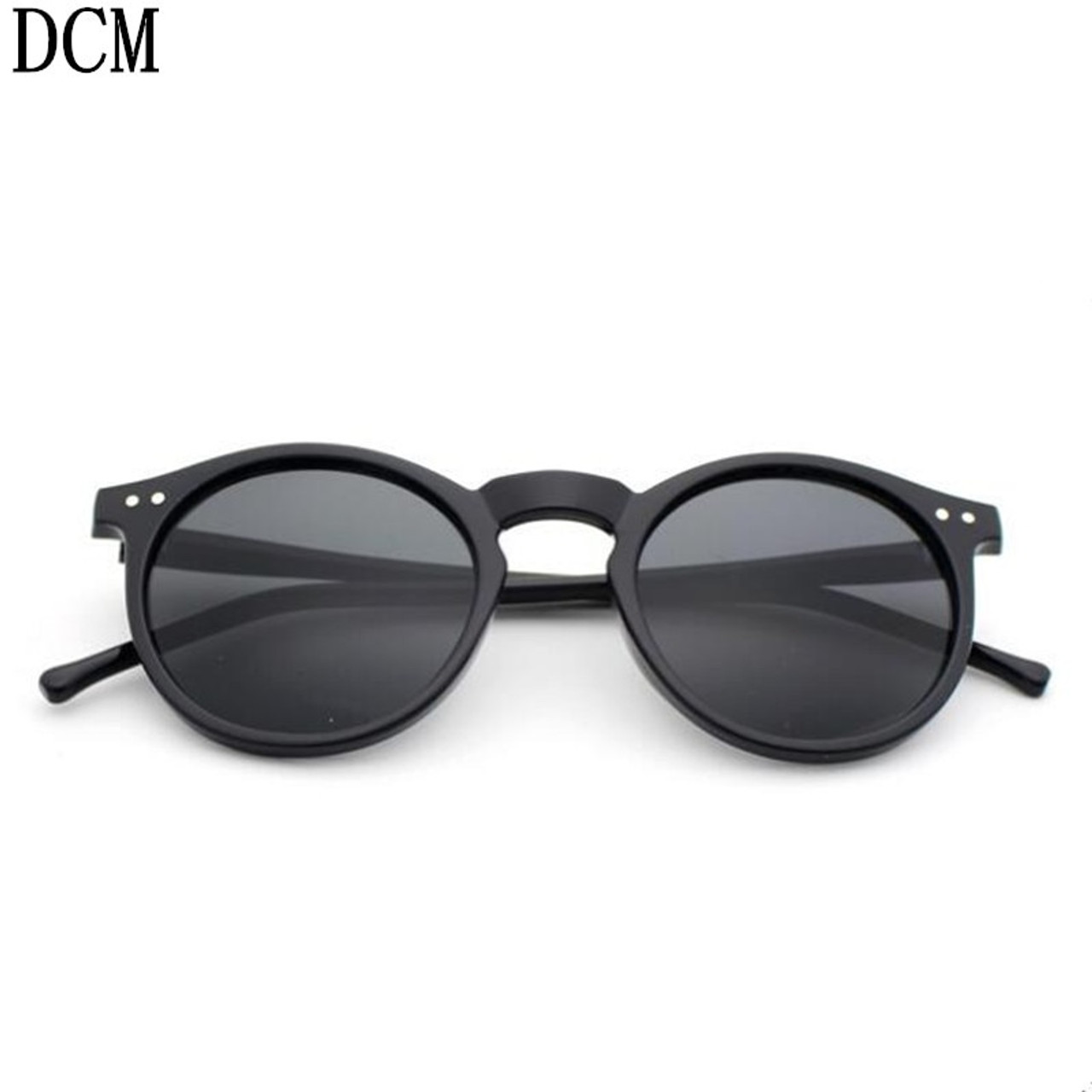 2018 New Women Adult Mirror Nail Fashion Hot Style Box Sunglasses Women men