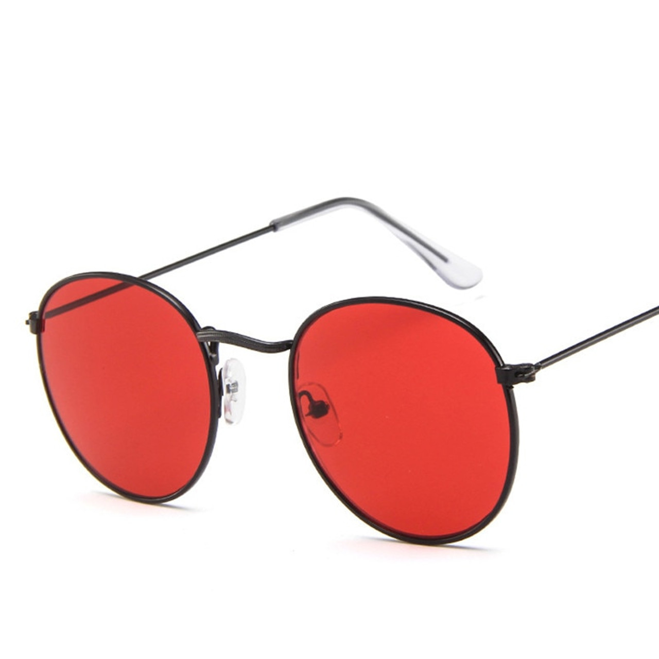 94e3a66380d ... 2019 Vintage Oval Small Metal Frame Sunglasses Men Women Brand Designer  Sun Glasses Female Eyewear Oculos ...