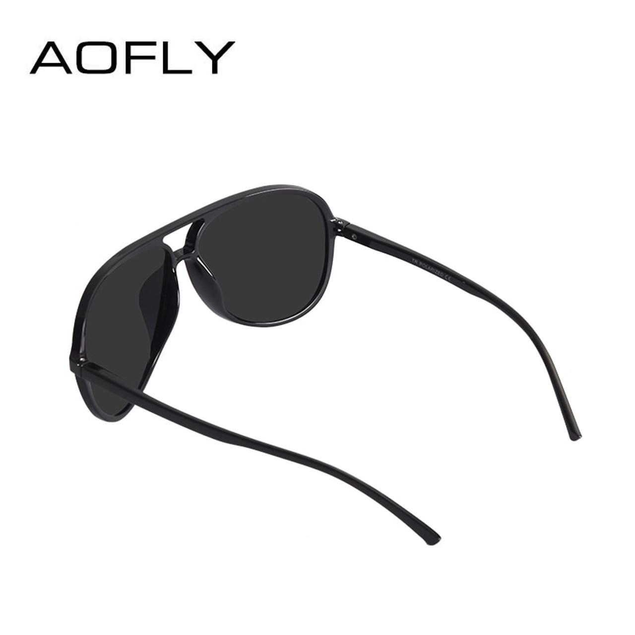 Pilot Sunglasses Ultralight TR90 Men Polarized Driving Sunglasses Sports Goggles