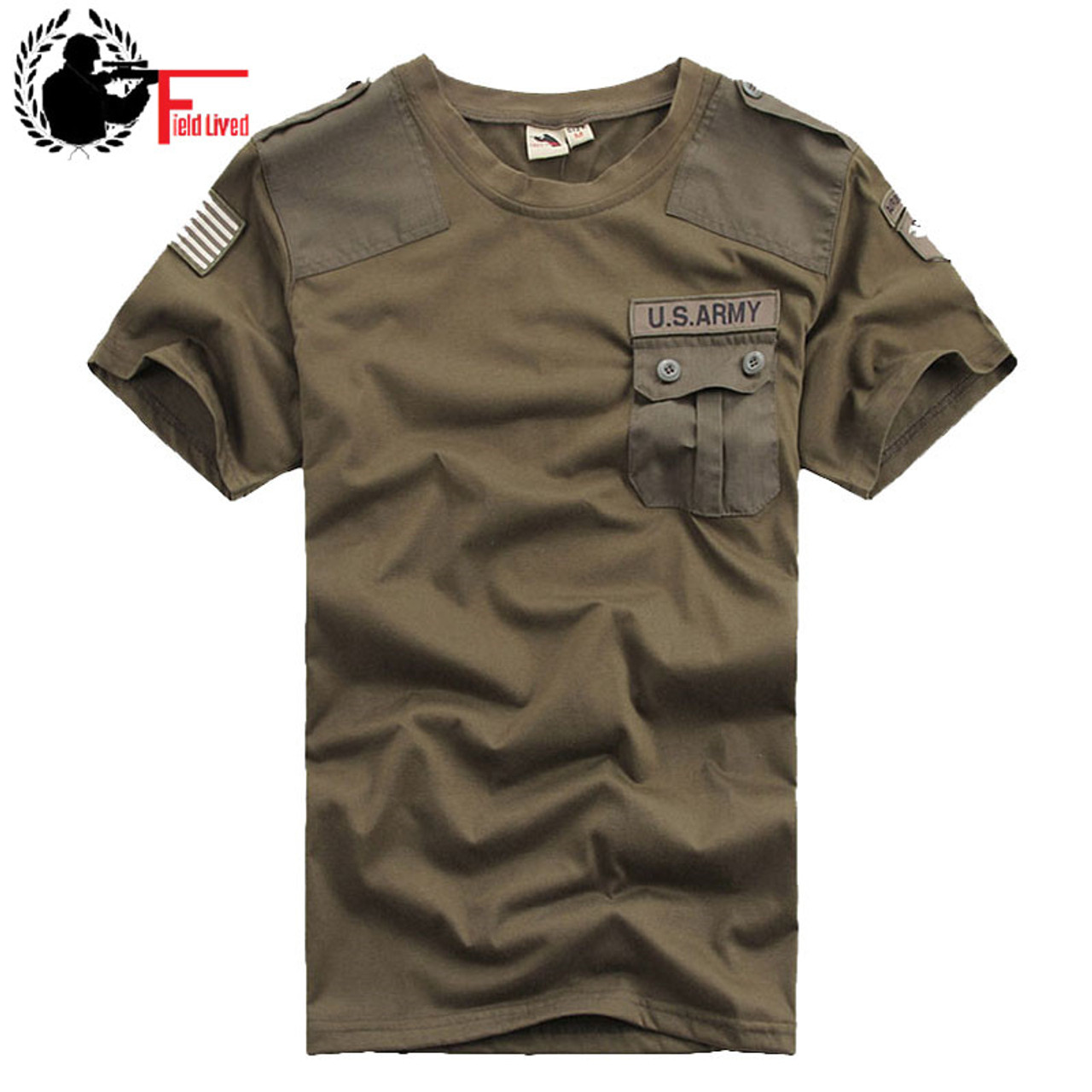 Imported Mens T-shirts Casual Confederate US Army 101st Airborne Division  100% Cotton T ... 684992343e6