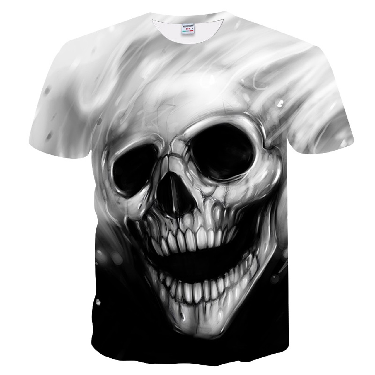 533798e3137 BIANYILONG New Big yards Arrivals Men Women 3d T-shirt Print Melted Skull  Quick Dry Summer Tops Tees Brand Tshirts - OnshopDeals.Com