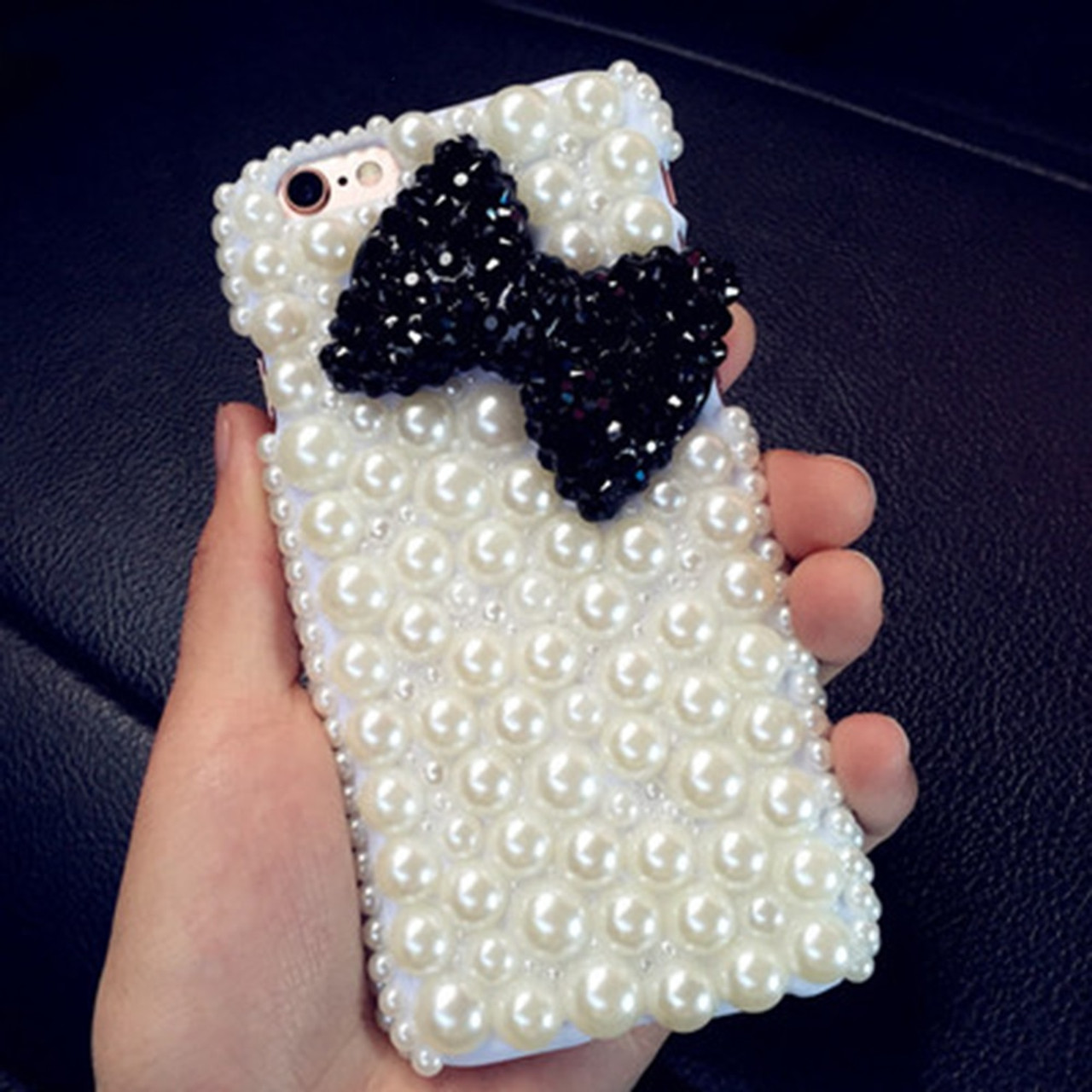 715547f76fe ... Fashion&Unique DIY Handmade Cover Diamond Bling Acrylic mobile  phone Protective shell Case For Samsung ...