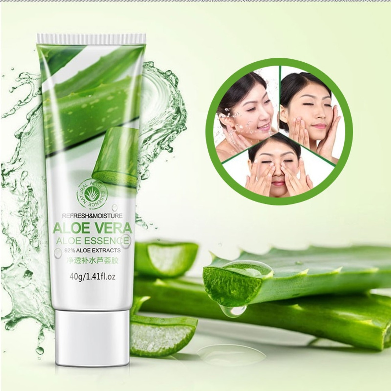 Image result for Aloe Vera Gel Moisturizing Skin Care