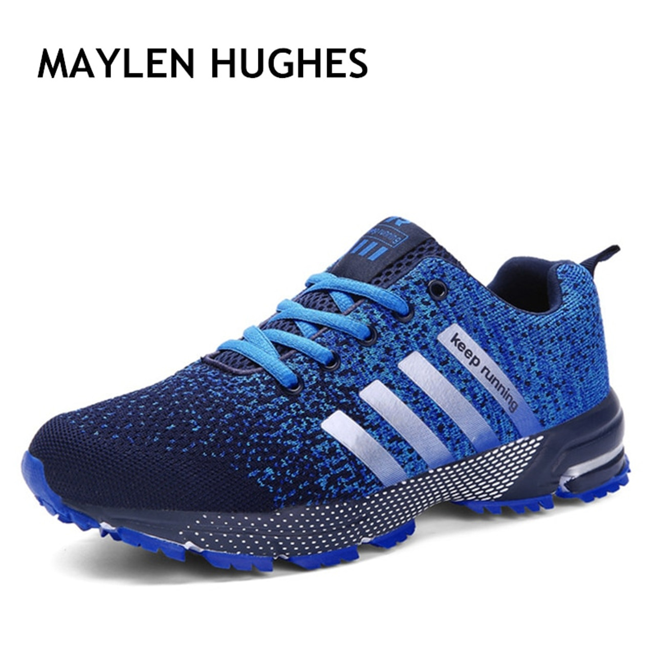 a2a785c223c5 Hot sale 2018 New Trend Running Shoes Men Sneakers Breathable Mesh Shoes  Eva Women Sport Runing ...