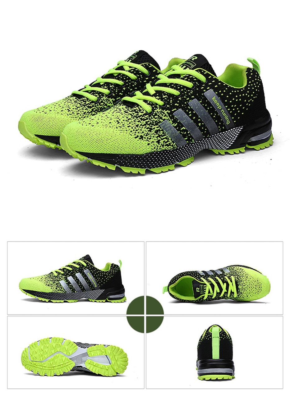 8d9990c54043 ... Hot sale 2018 New Trend Running Shoes Men Sneakers Breathable Mesh Shoes  Eva Women Sport Runing ...