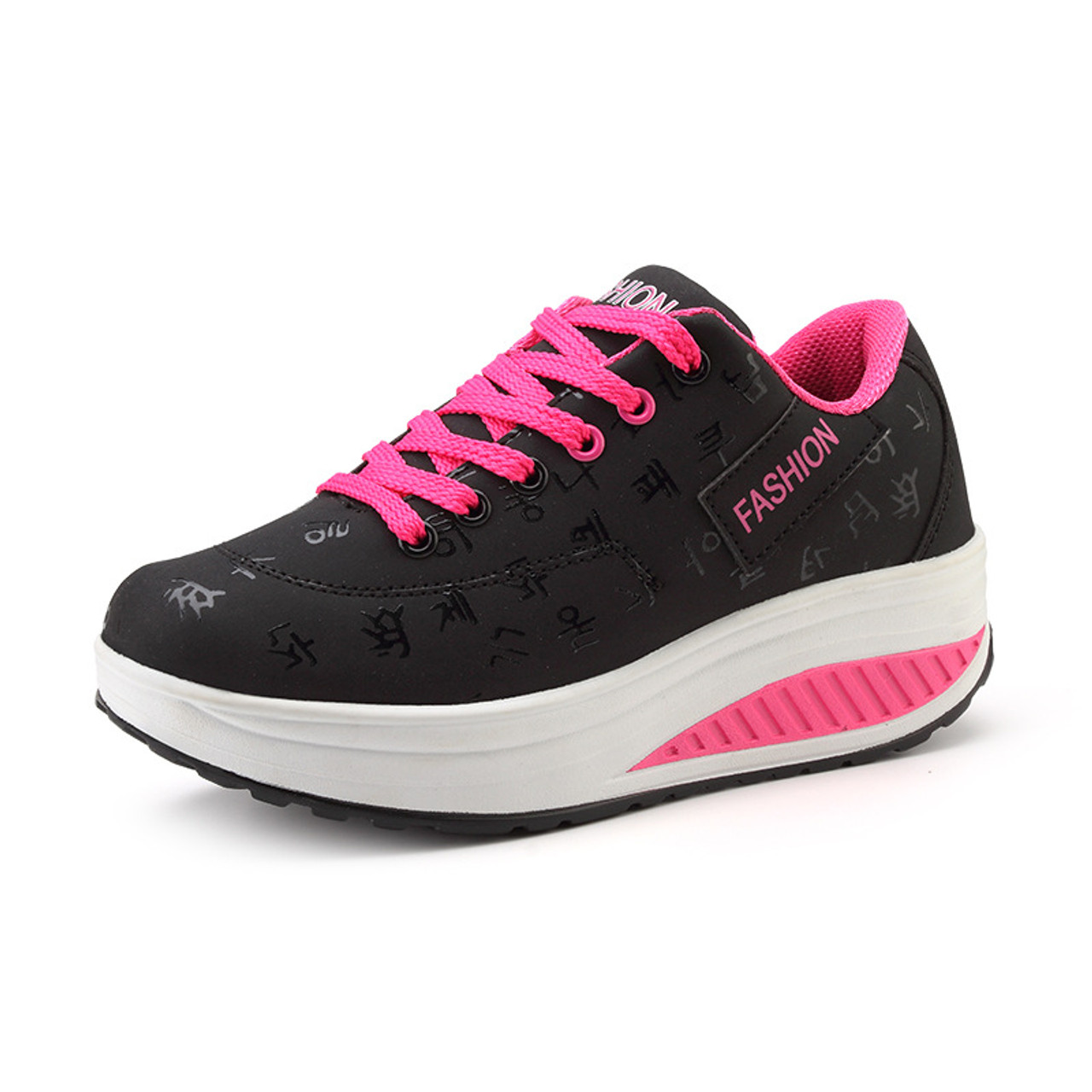 e6527997e892 ... Bolangdi New Platform Chaussure Femme Sport Shoes Woman Leather Lady Sports  Shoes Summer Running Shoes Women s ...