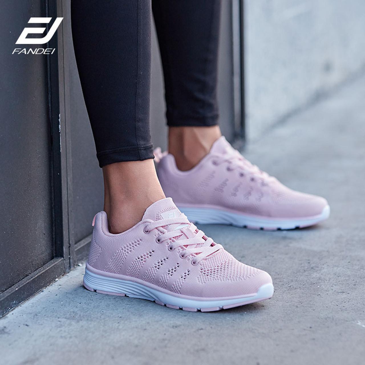 FANDEI Winter Running Shoes Women