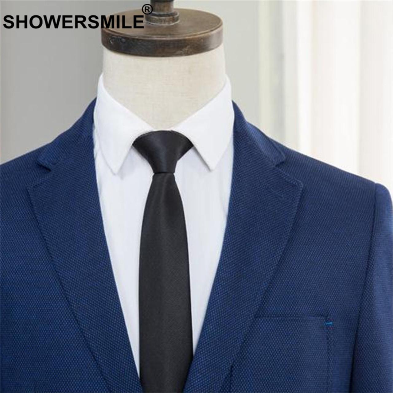 6ca56959359f6 SHOWERSMILE Brand Smart Casual Blazer Men Slim Fit Blue Suit Jacket Male  Gentlemen Plus Size Blazer Jacket Autumn Wedding Coat