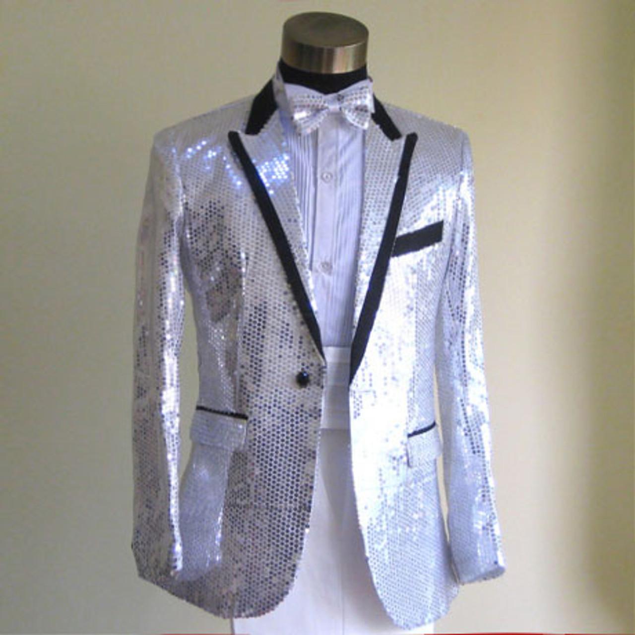 ... Sequins Prom Dresses Suits Plus Size S- 4XL Paillette Male Master Stage  Costumes Men top ... 4e739e7dd453