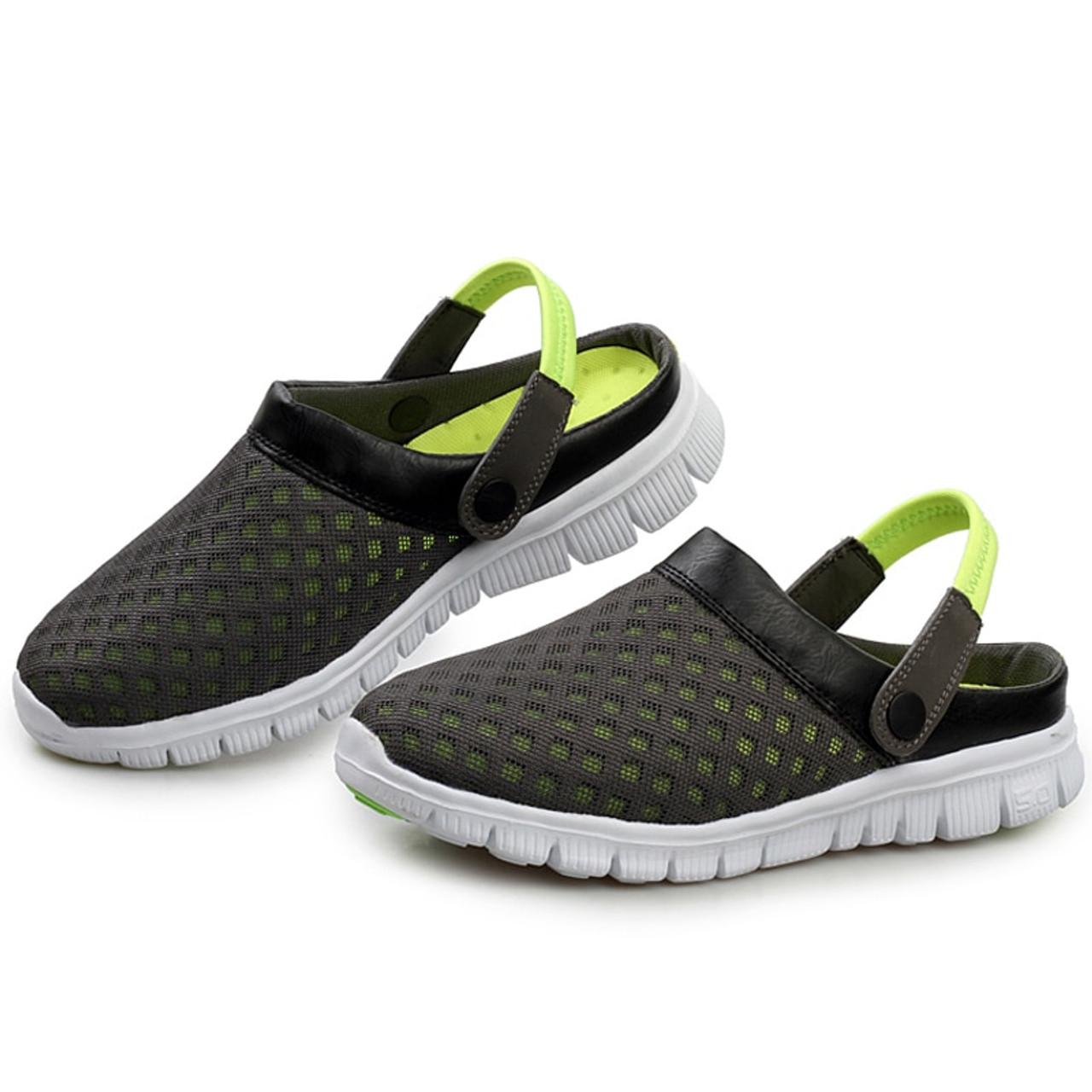 Saguaro Mesh Fashion Summer Men Slippers Shoes 2018 Unisex OXPiuTlwZk