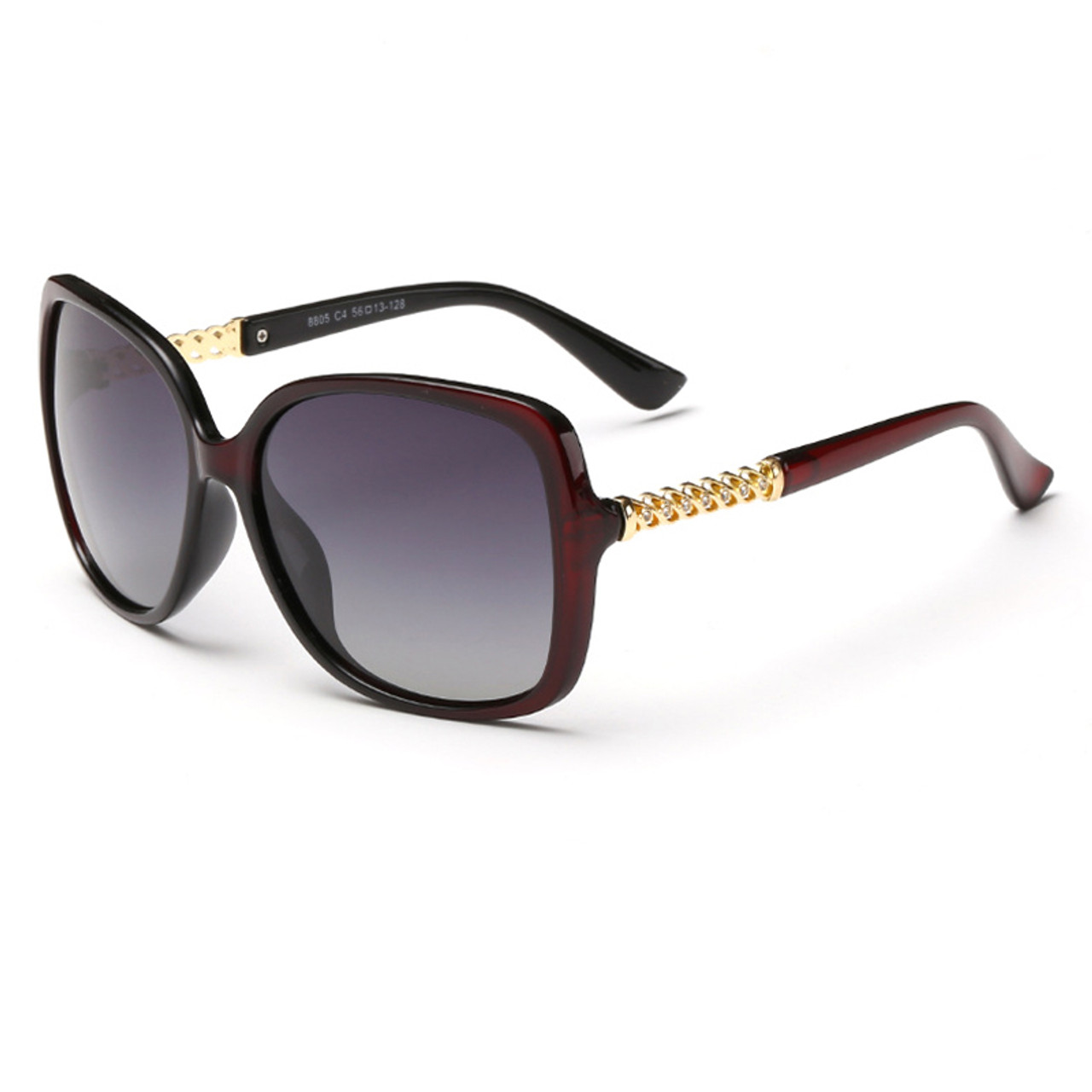 c88cf30ee18 New Luxury Brand Designer Polarized Sunglasses Women Oversized New Luxury  Brand Designer Polarized Sunglasses Women Oversized Square Frame Sun  Glasses Bling ...