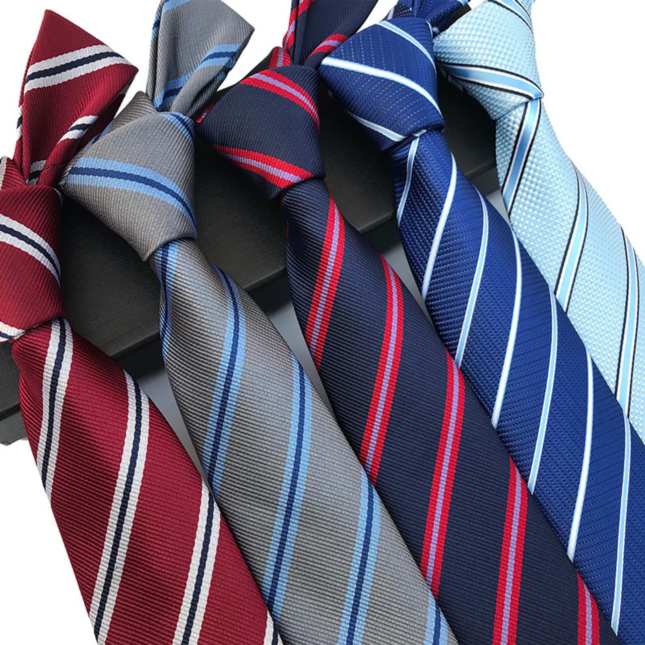35b7fb1edcc3 ... 39 Colors Classic 8 cm Tie for Man 100% Silk Tie Luxury Plaid Dots  Business ...