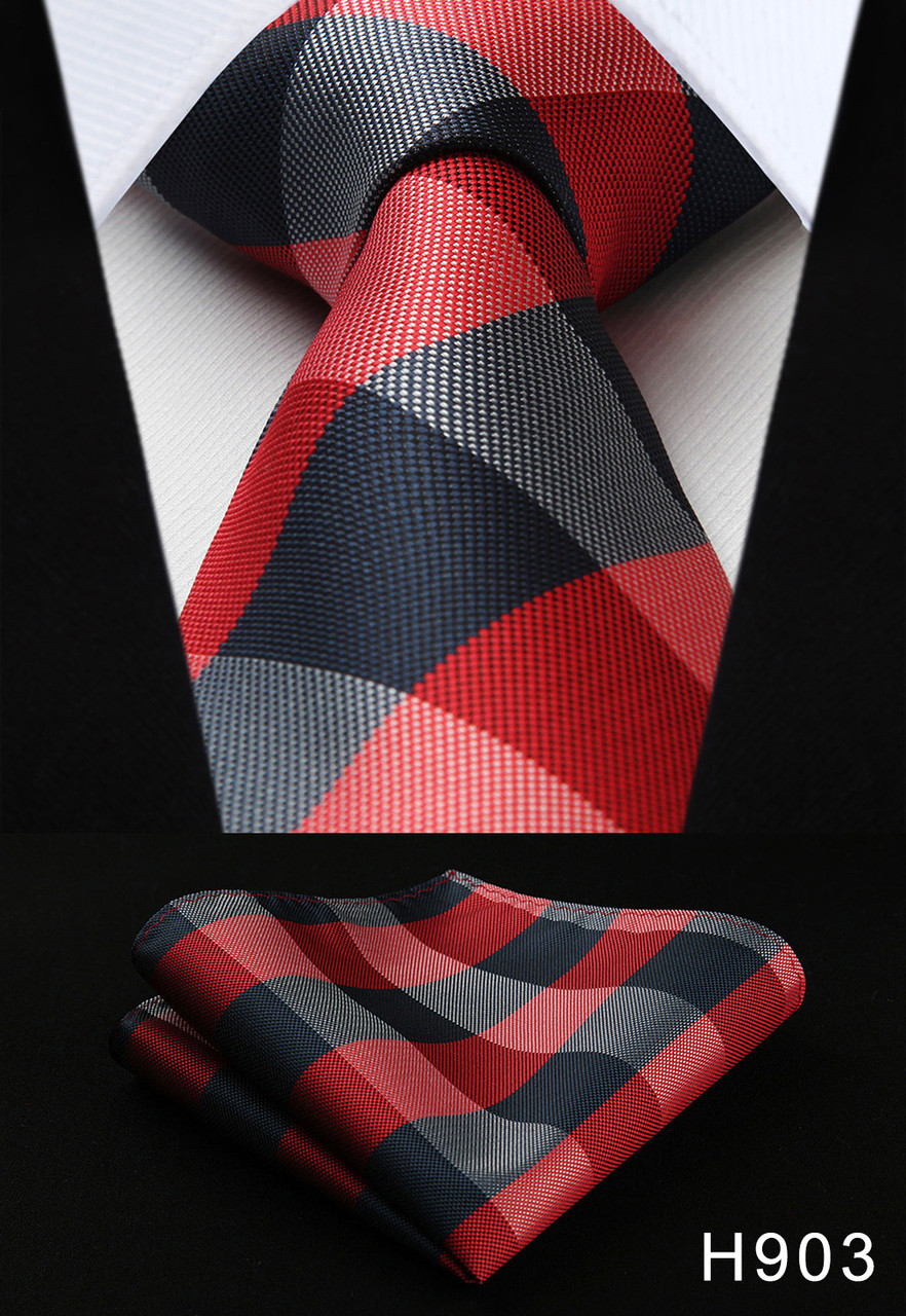 Men/'s Tie Necktie Striped 3.4/'/' Silk Jacquard Woven New