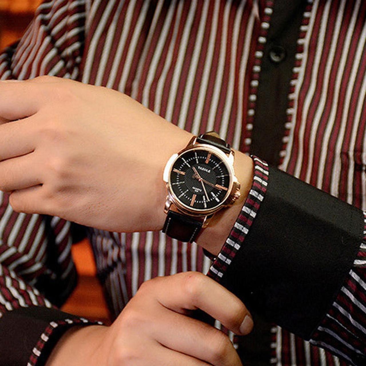 b5f5e614fc YAZOLE Rose Gold Wrist Watch Men 2018 Top Brand Luxury Famous For Male  Clock Quartz Watch Golden Wristwatch Relogio Masculino