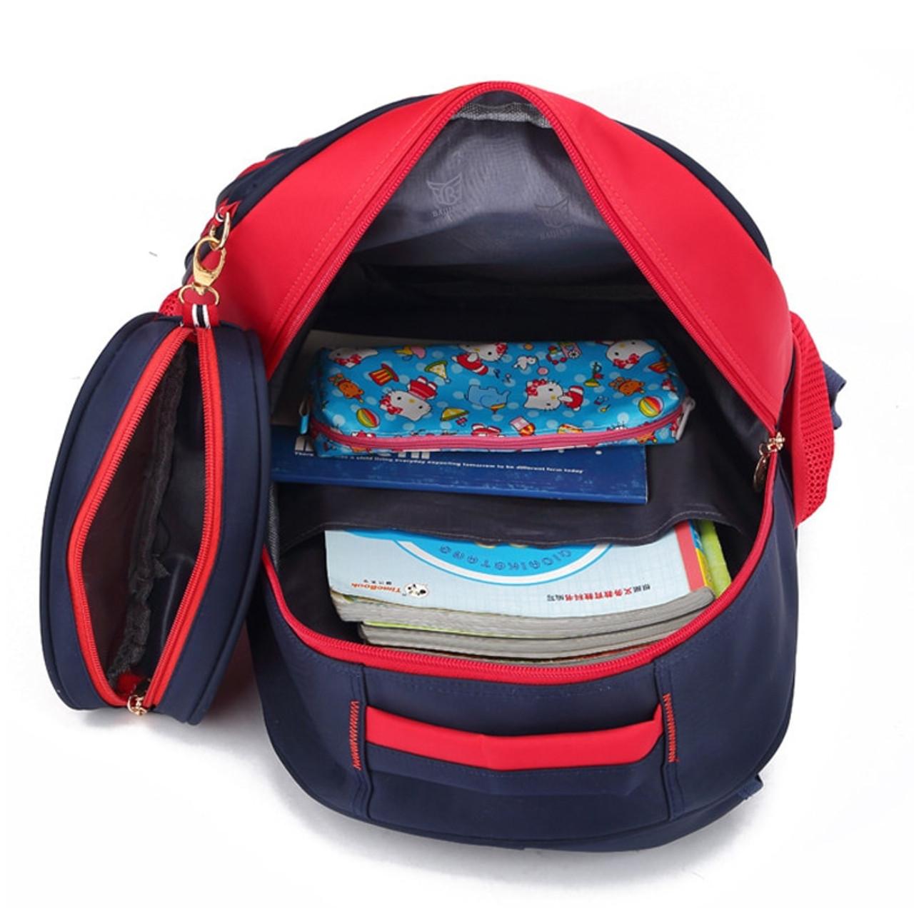 adf03ed4139f BAIJIAWEI Hot Sale School Bags For Children Kids Fashion Backpack Primary  School Bag for Boys Girls Waterproof Schoolbags