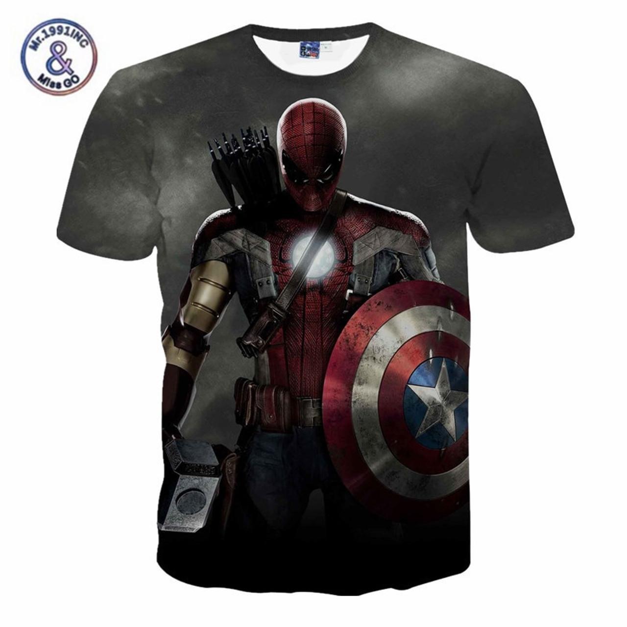 deadpool t-shirt marvel