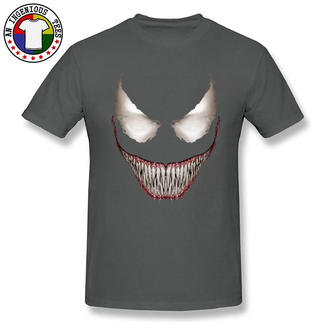 2018 New Venom T-shirts superhéros Venom Hommes Compression 3D Sport Long T-shirts