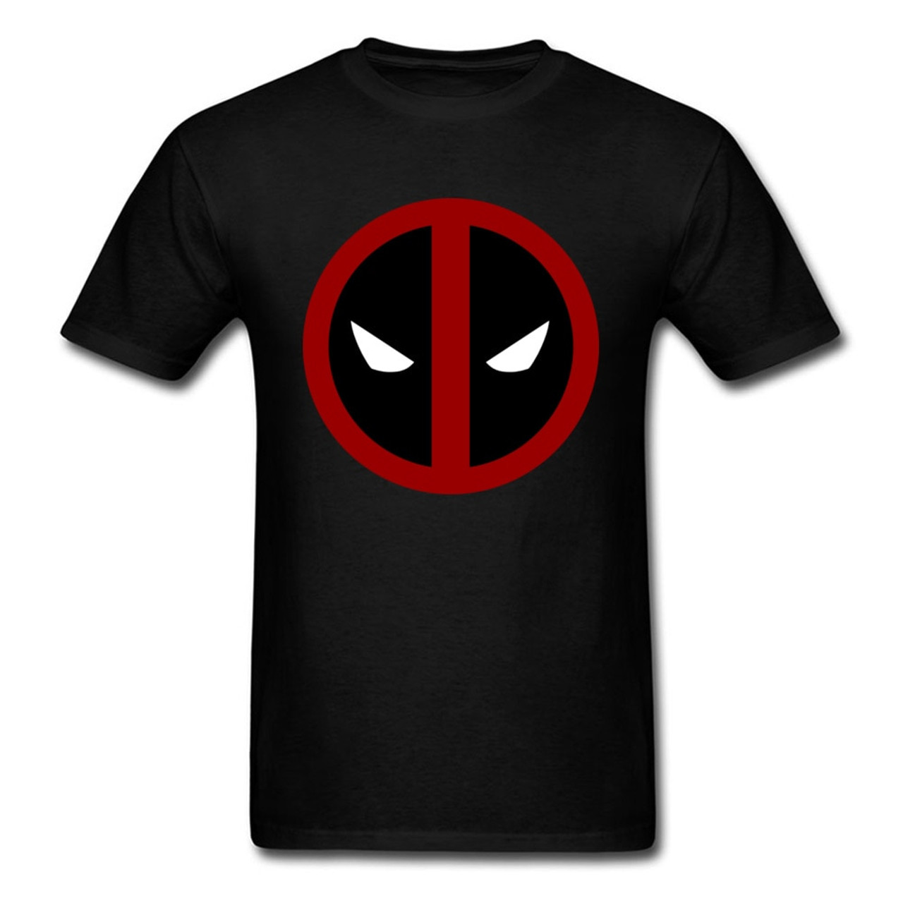 59efaa18f ... Classic Deadpool 2018 Funny Marvel T Shirt Simple Logo Printed Mens Own  Hero T-shirt ...