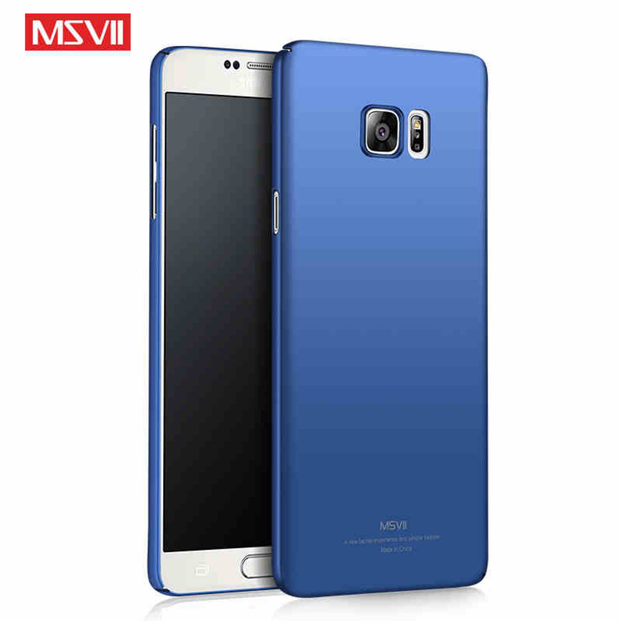 outlet store 41741 4c81e For Samsung Galaxy Note 5 Case Cover Ring Metal Car Magnetic Holder Slim  Hard PC Back Coque For Samsung Note5 Msvii Phone Cases
