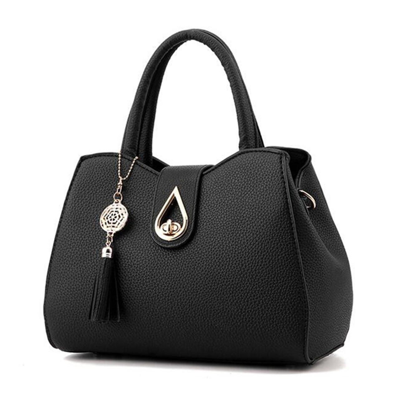 dc57fd5ae7a Famous Brand Women Bag Top-Handle Bags 2019 Fashion Women Messenger Bags  Handbag Set PU Leather totes Bag