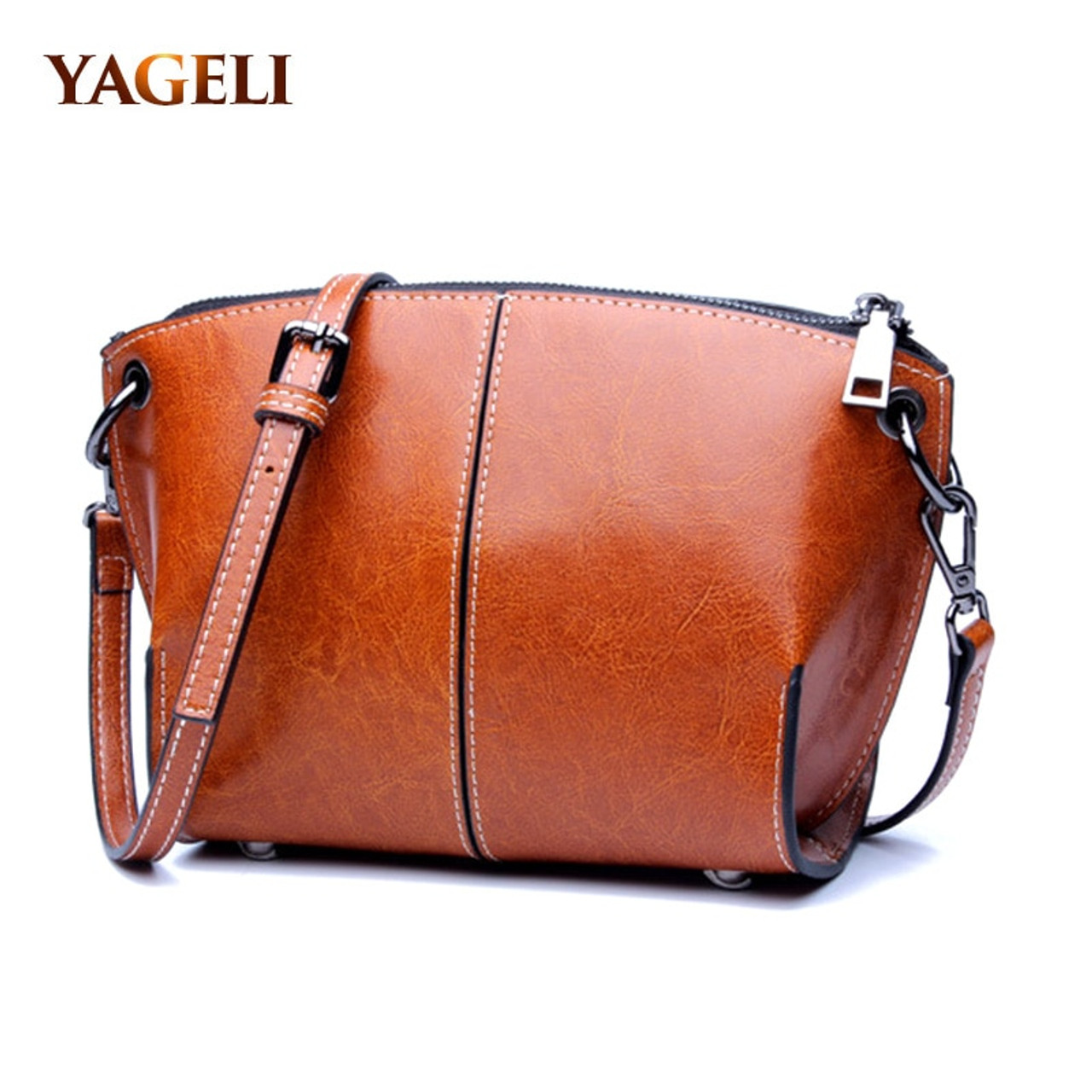 a8d075df31493 2018 genuine leather shoulder messenger bags for women small shell  crossbody bags for women brand design ...