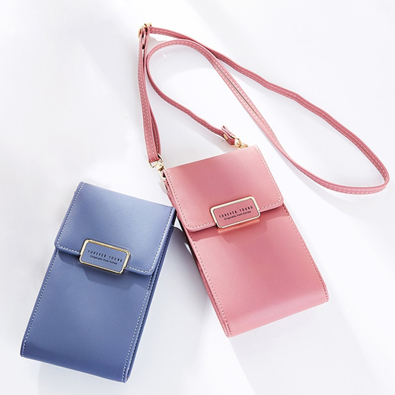 0da25e1eb707 Luxury Women Phone Bag Message PU Leather Mini Shoulder Bags Girls With  Coin Purses Crossbody Bag Card Holder Female Fashion Bag - OnshopDeals.Com
