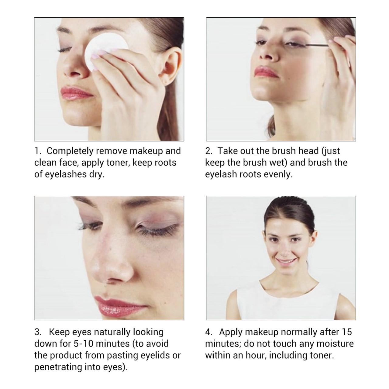 ade03b6cb44 ... LANBENA Eyelash Growth Eye Serum 7 Day Eyelash Enhancer Longer Fuller  Thicker Lashes Eyelashes and Eyebrows ...