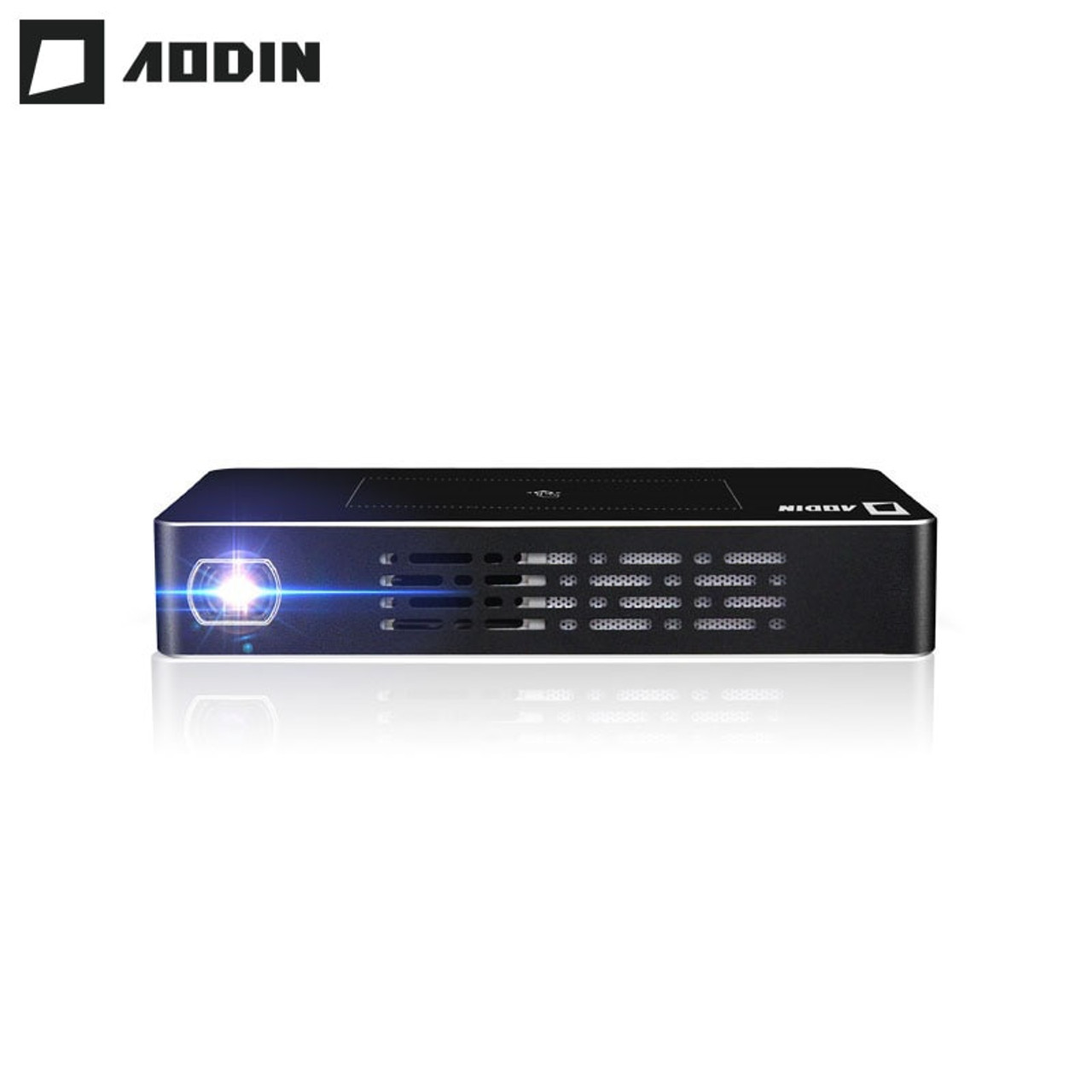 41b03a5f0c8139 AODIN T68 DLP mini Projector LED Smart Multi-touch 1+32G Portable Projectors  HDMI ...