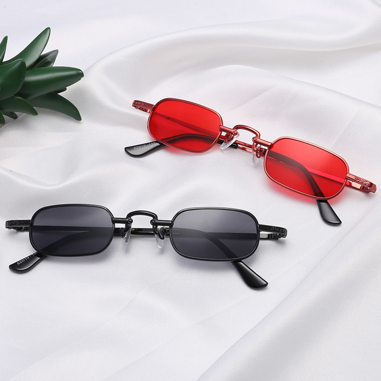 566e3f82c1 ... Retro Small Square Metal Steampunk Sunglasses Women Men Fashion Glasses  Brand Designer Vintage Sunglasses Female High ...