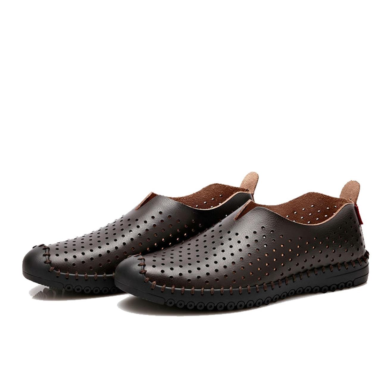 Npezkgc Men S Shoes New Fashion Genuine Leather Men S Loafers