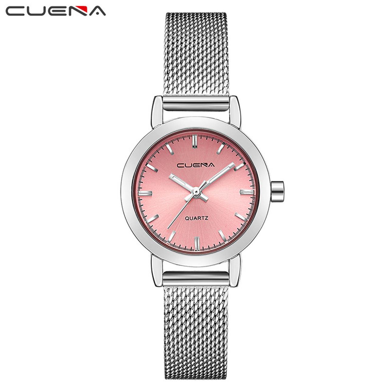 09b3e11ef3d ... Luxury Women Quartz Watch Fashion Ladies Watches Relojes Reloj Mujer  Montre Femme Relogio Feminino CUENA Brand ...