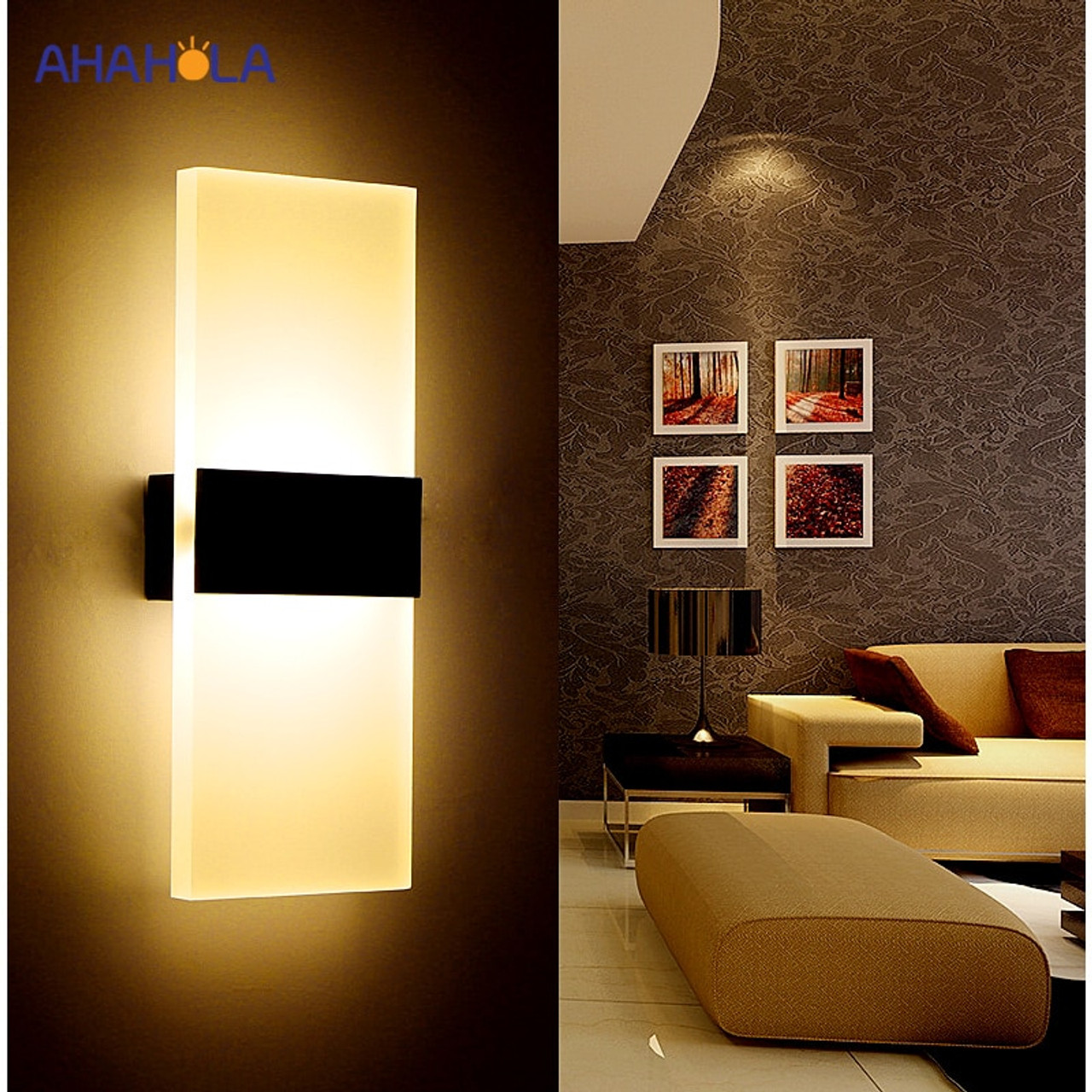 Image of: Modern Wall Light Led Indoor Wall Lamps Led Wall Sconce Lamp Lights For Bedroom Living Room Stair Mirror Light Lampara De Pared Onshopdeals Com