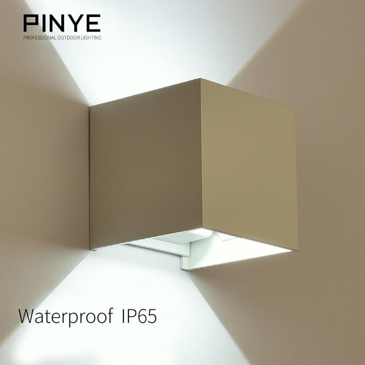 6w led wall light outdoor ip65 waterproof modern lighting nordic style indoor wall lamps living room porch garden light