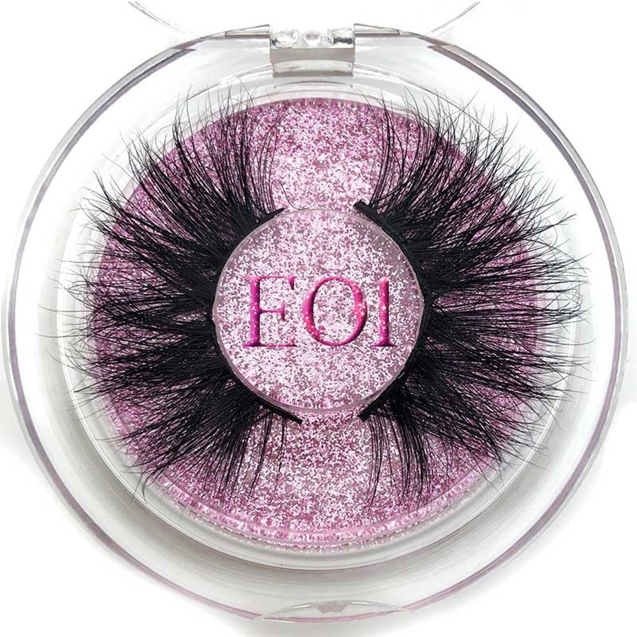 9d6bcc5bddc ... Mikiwi 25mm False Eyelashes Wholesale Thick Strip 25mm 3D Mink Lashes  Custom Packaging Label Makeup Dramatic ...