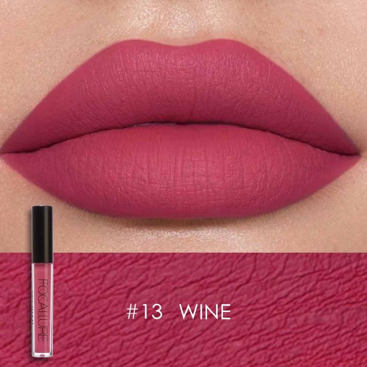 6239fb7361 ... Focallure glitter Matte Liquid Lipstick 25color Lip gloss Lip Tint  Cosmetic Lipstick not sticky Sexy Nude ...