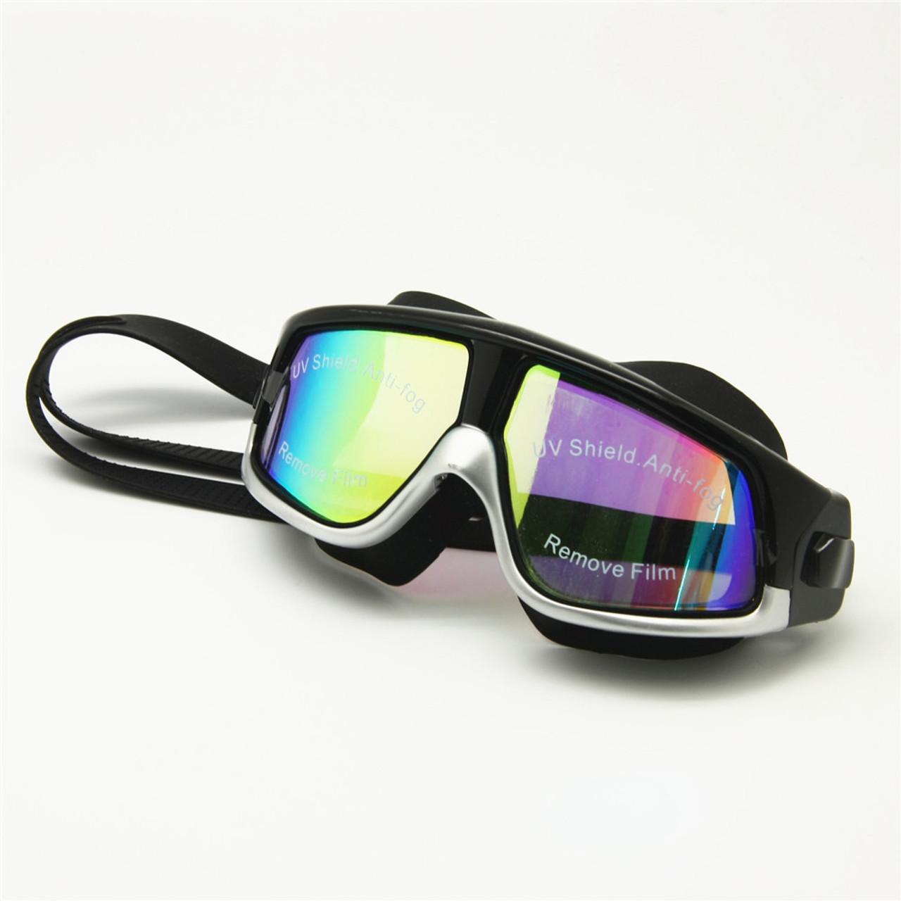 9bba24aa79d ... Rx Prescription Swimming Glasses Myopia Optical Swim Goggles Corrective  Snorkel Mask 0 to -800 Free ...