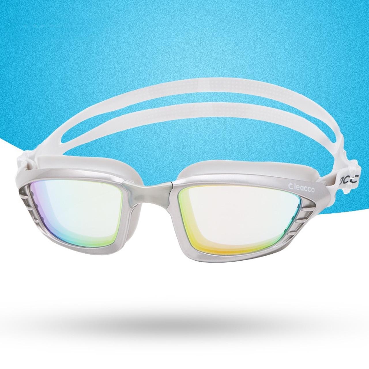 223f64160da ... Professional Anti-Fog UV Swim Goggles men women Plating Lens Waterproof  Silicone Swimming Glasses Eyewear ...