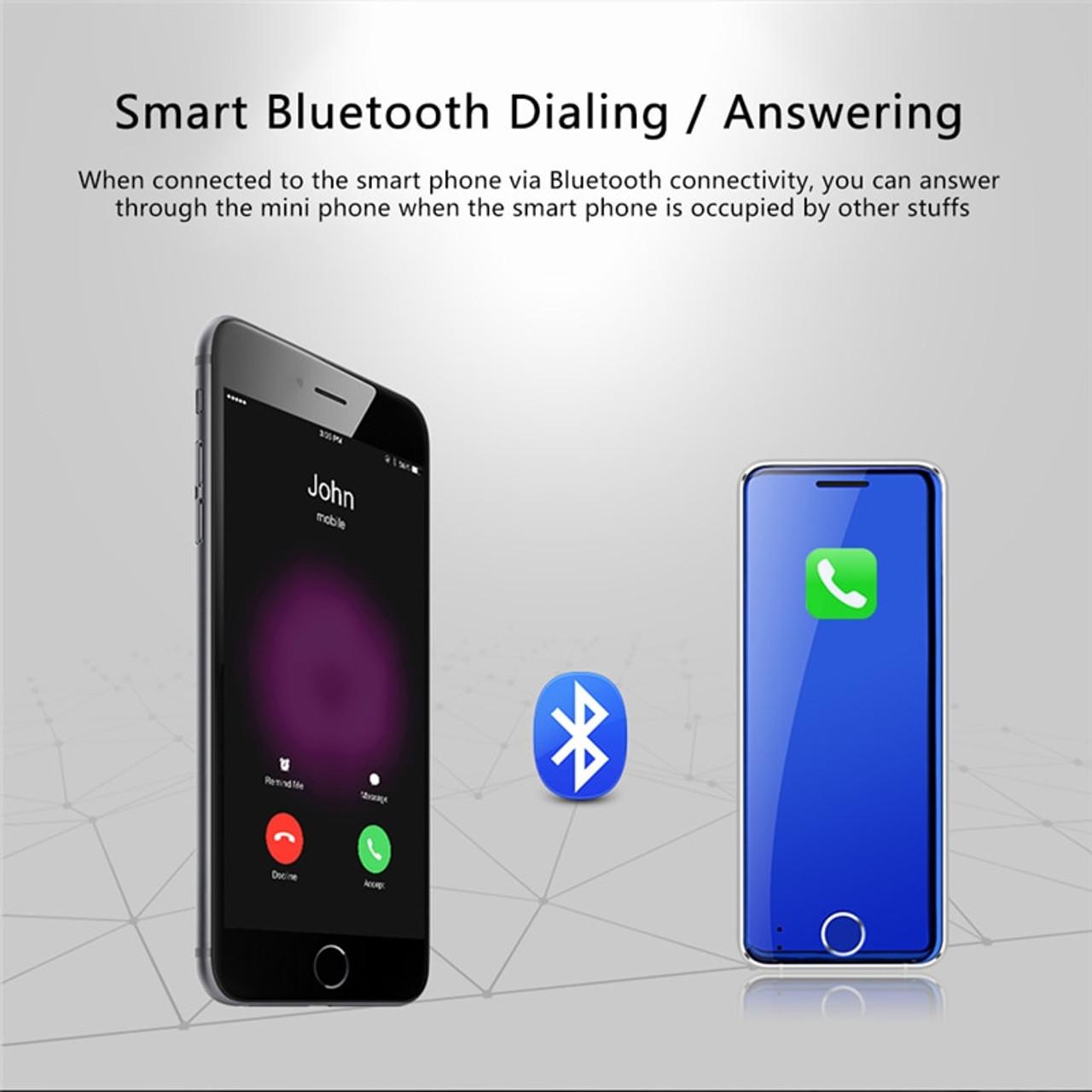 7f0bfd95269176 ... Mini Card Phone Ulcool V66 bluetooth dialer 1.67 Inch Ultra Slim Metal  Body Mobile Phone FM ...