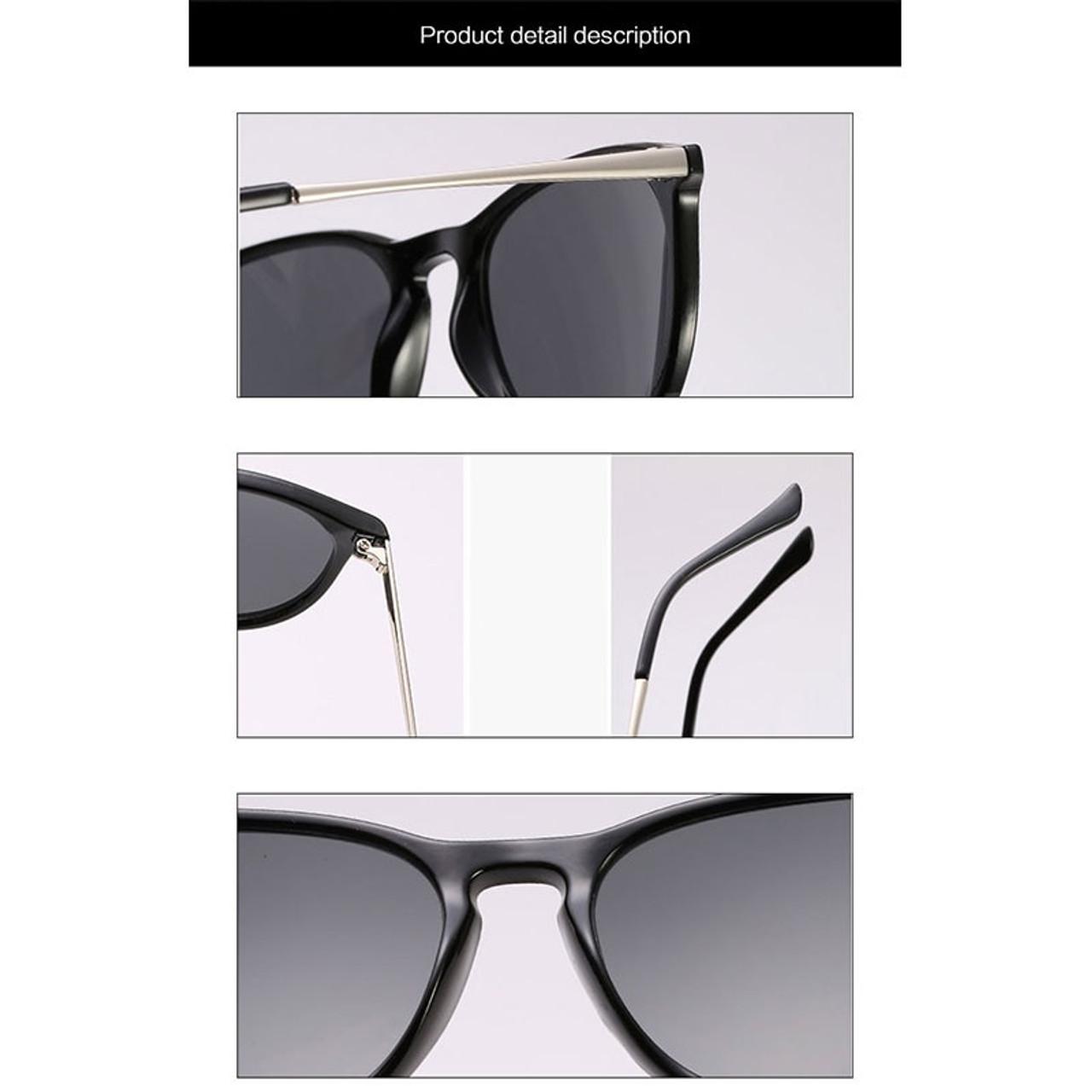 6f2e019af86 ... HUHAITANG luxury brand oval sunglasses men vintage cat eye sun glasses  for women 2019 high quality ...