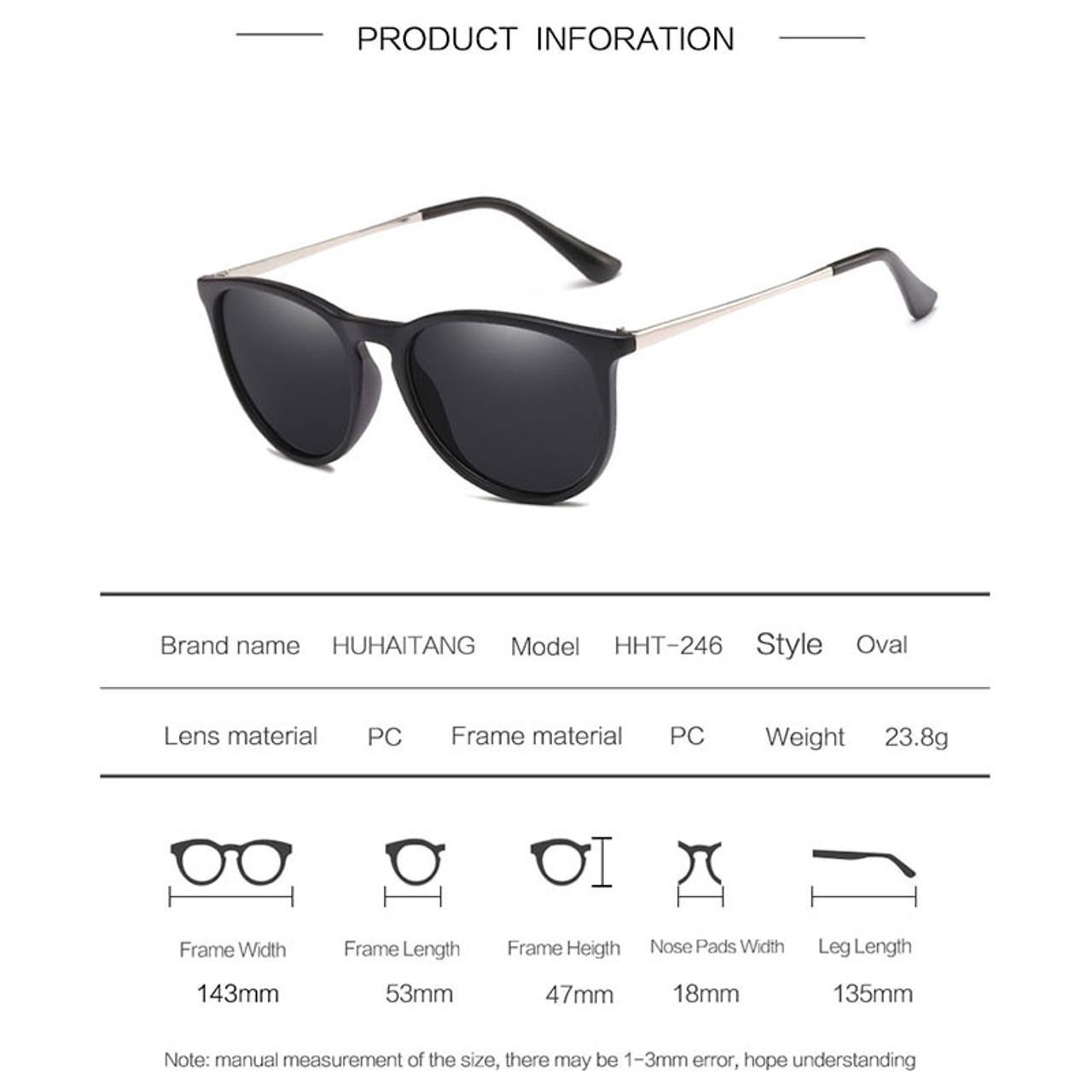 e0c537702f4b ... HUHAITANG luxury brand oval sunglasses men vintage cat eye sun glasses  for women 2019 high quality ...